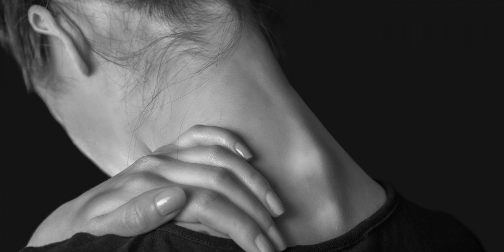Pain In The Female Neck