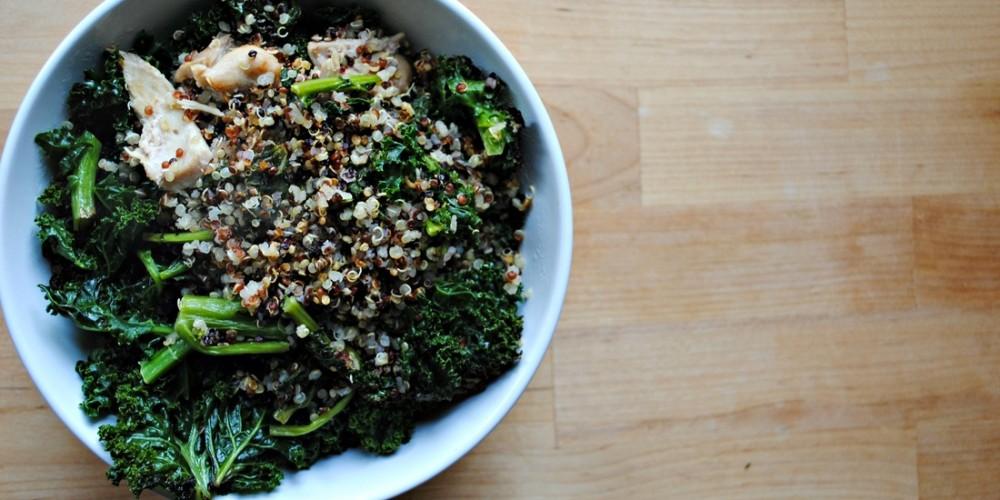 Kale & Quinoa Bowl 1
