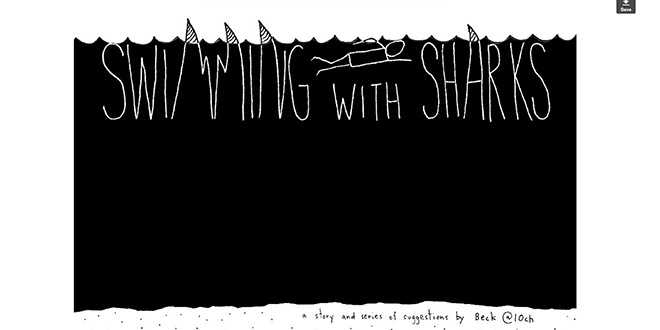 Swimmingsharks